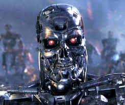 Picture of a robot who does not read LinkedIn profiles