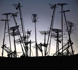 a bunch of rooftop antennas make technology a bit daunting