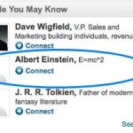 People you may know, a LinkedIn tab you will find handy