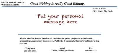 a crown jewel of technical writing jobs lance medical writer make the point elegantly a professionally made note card