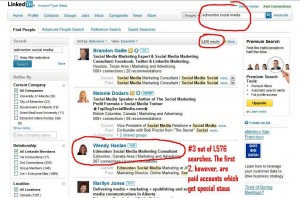 Do-it-yourself SEO for LinkedIn profiles.