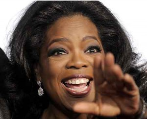 oprah is articulate and personable across her media empire