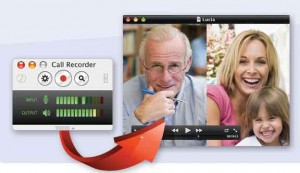 image of a digital tool called ecamm that creates split screen video