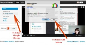 how to find online communities on Google Plus with Hangout Canopy